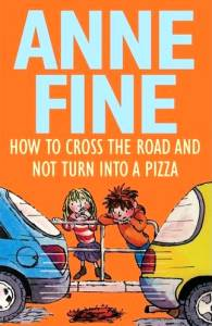 The cover of 'How to cross the road and not turn into a Pizza'