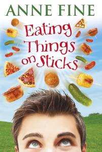 The cover of 'Eating Things on Sticks'